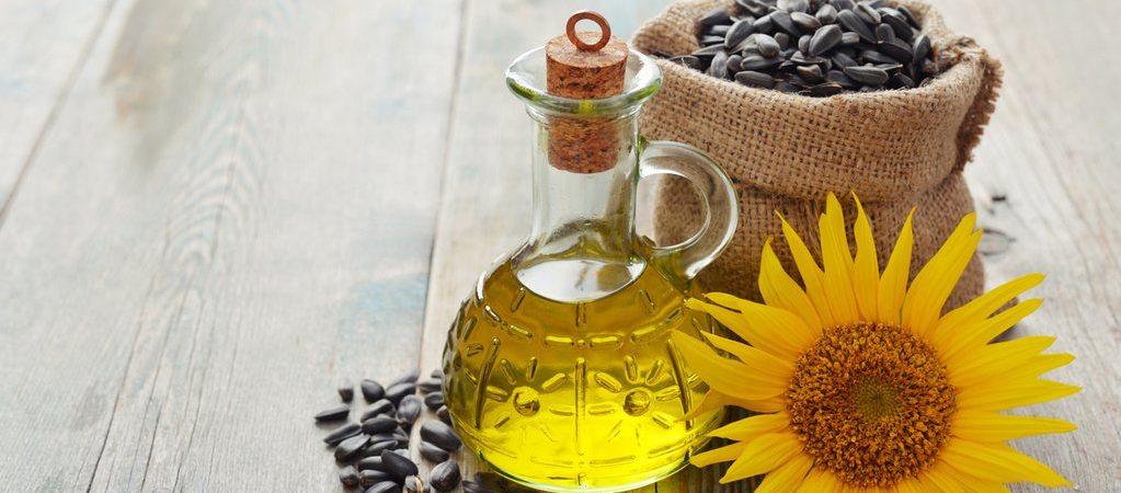 Zonnebloempit olie natuurlijk ingrediënt | Rio Rosa Mosqueta